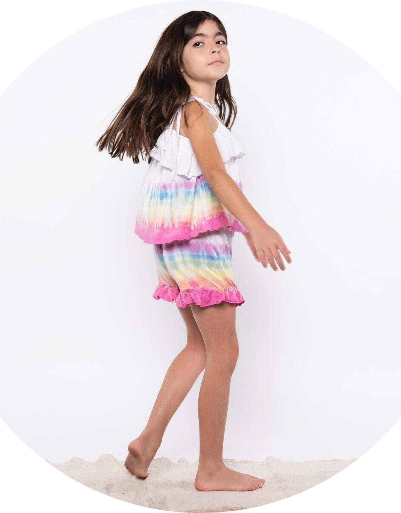 Fairwell Play Short Lilac Rainbow