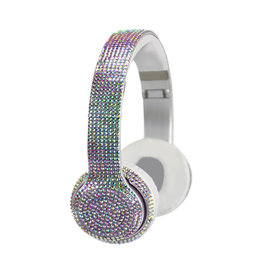 Wireless Express Iridescent Bling Bluetooth Headphones