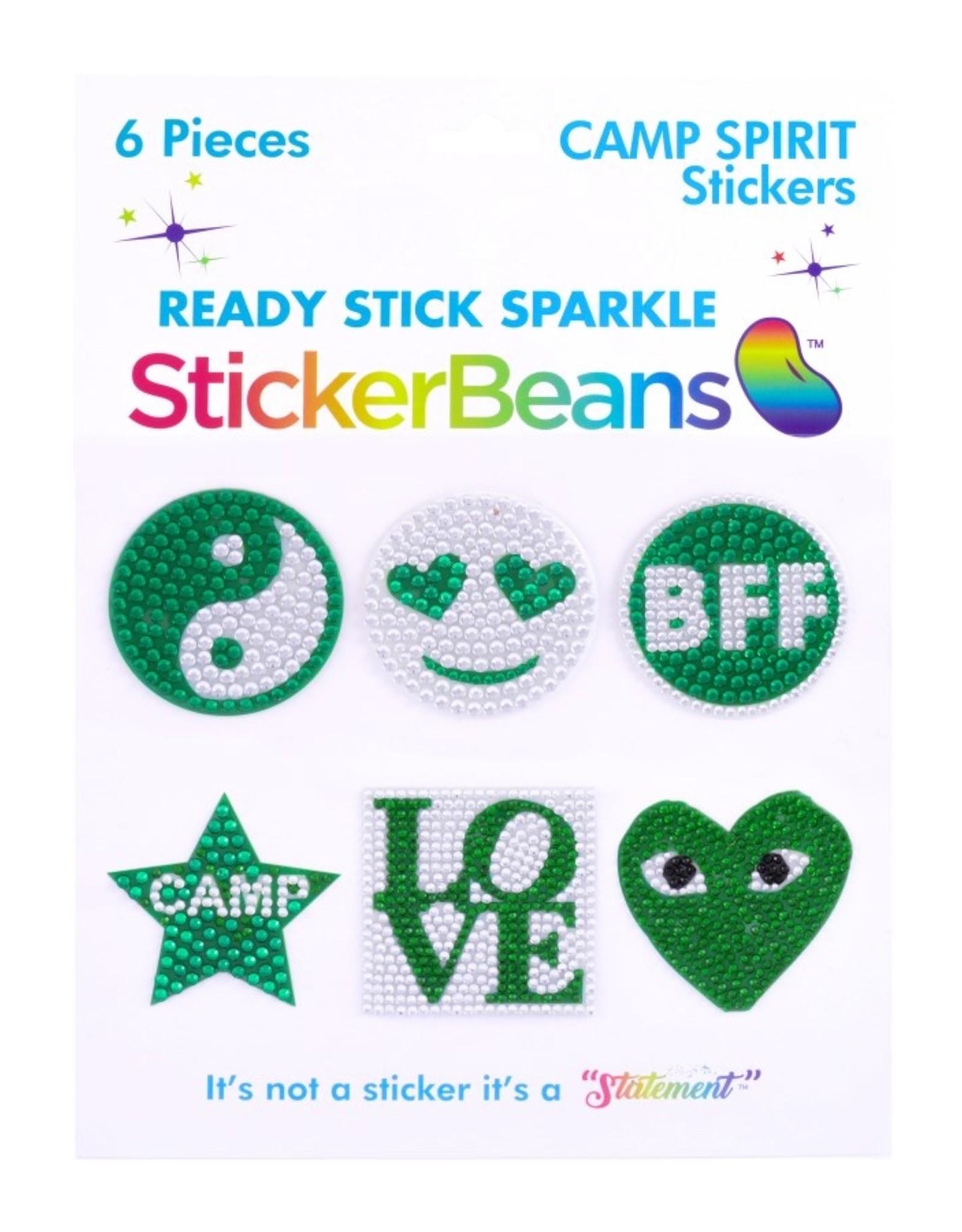 Sticker Beans Green Spirit Multipack
