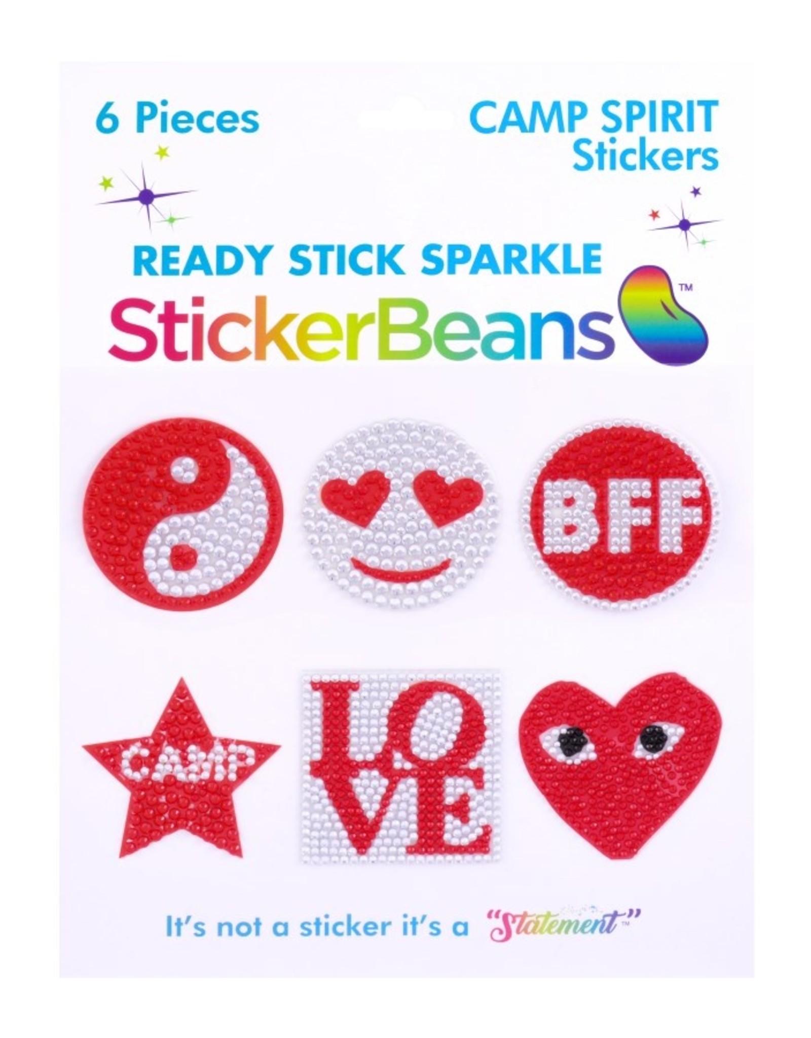 Sticker Beans Red Spirit Multipack