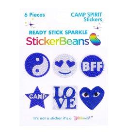 Sticker Beans Blue Spirit Multipack