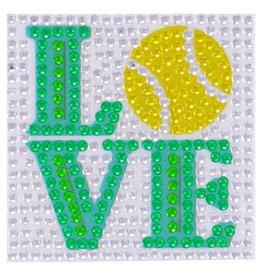 Sticker Beans Tennis Love