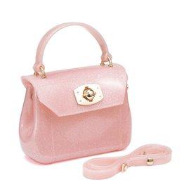 Pink Glitter Jelly Bag
