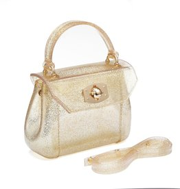 Gold Glitter Jelly Bag