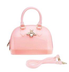 Doe a Dear Pink Jelly Bee Bowling Bag