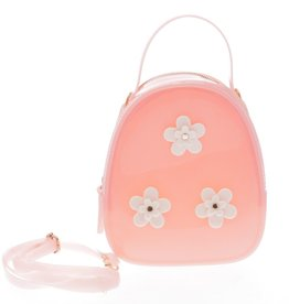 Pink Floral Jelly Bag