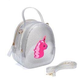 Doe a Dear Silver Unicorn Jelly Bag