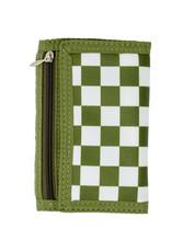 Tiny Treats & Zomi Gems Boys Checkered Green Wallet