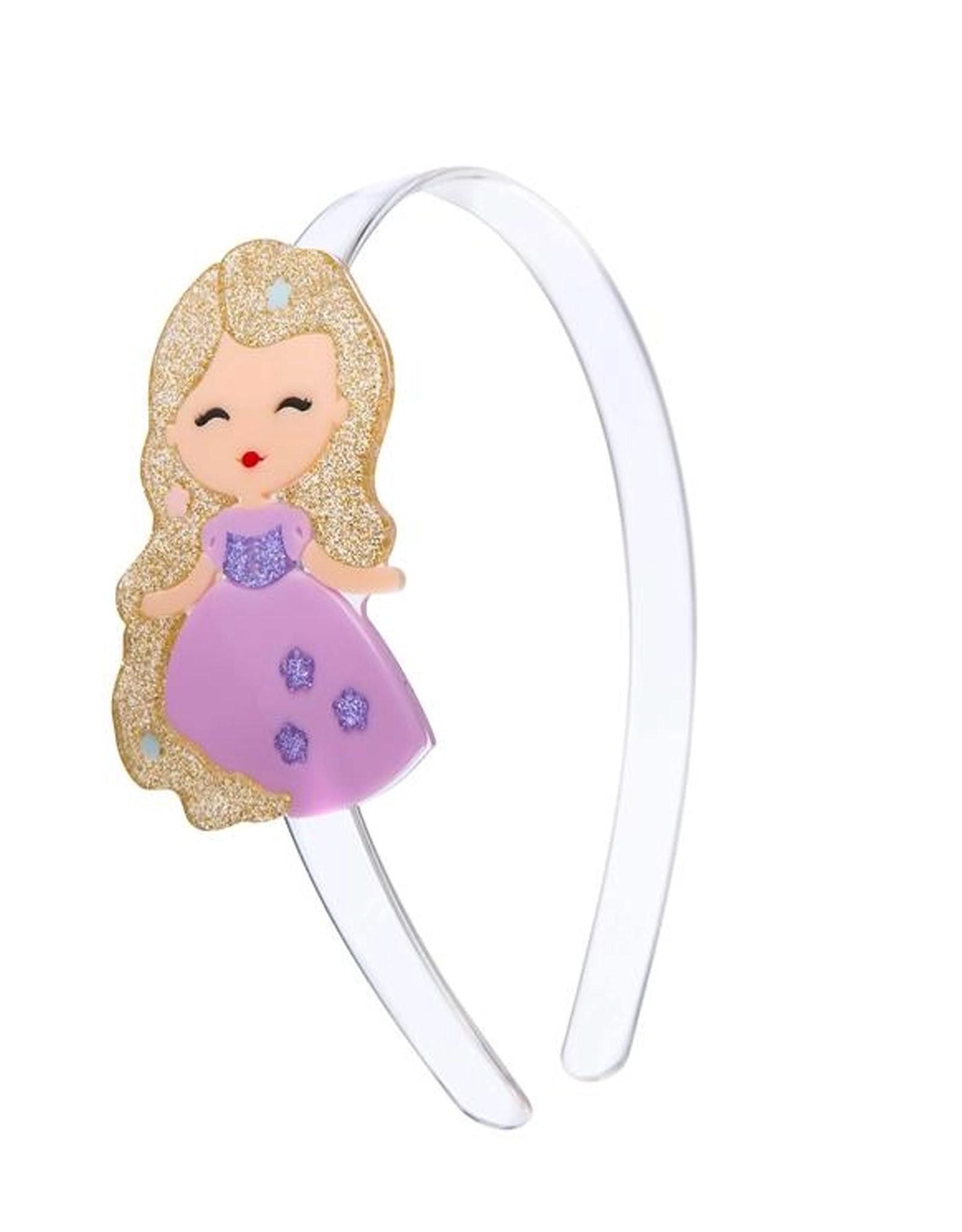 Lillies & Roses Headband Cute Doll w/ Long Hair