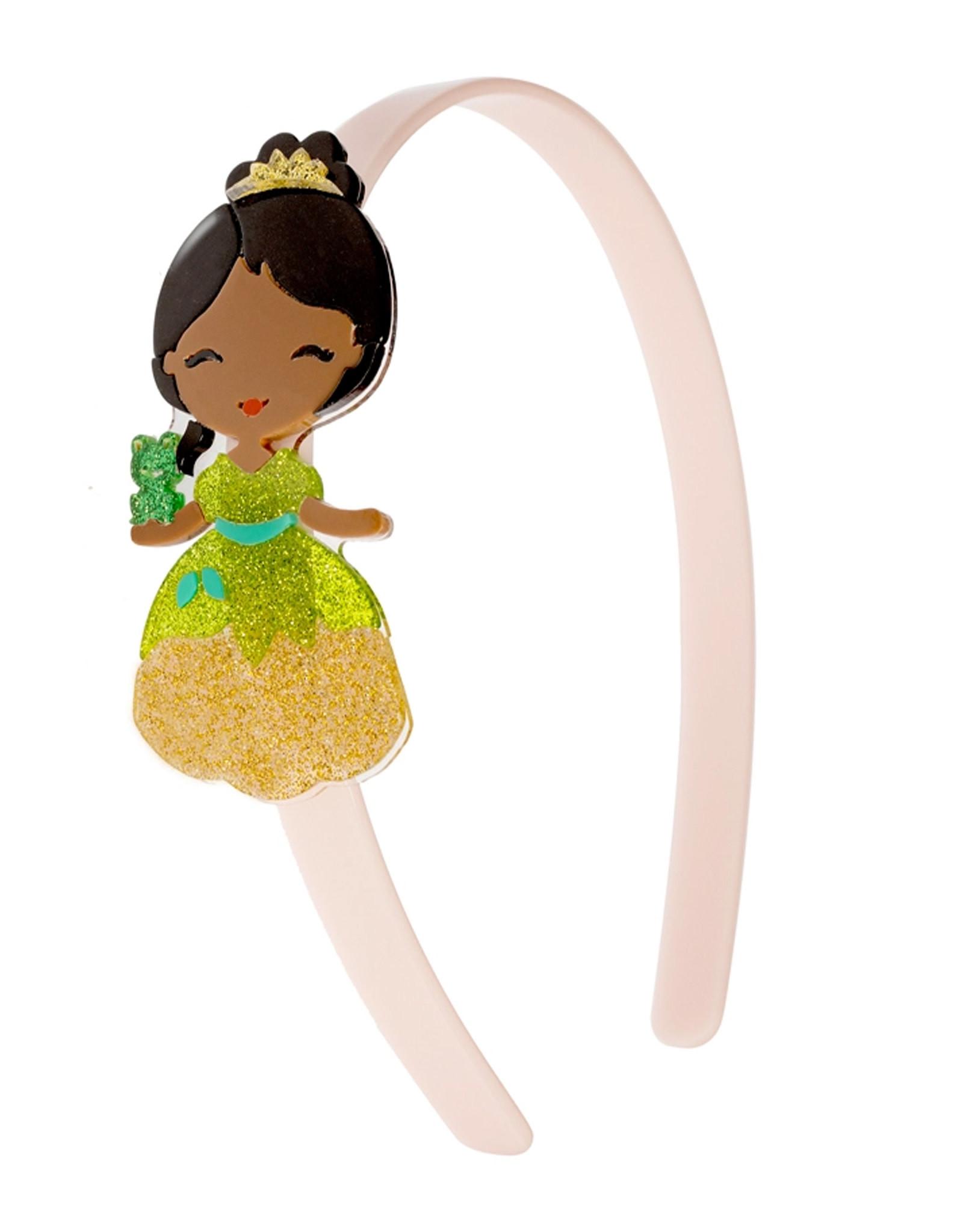 Lillies & Roses Headband Cute Doll w/ Frog