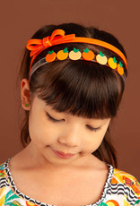 Lillies & Roses Multi Oranges Headband