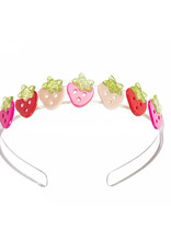 Lillies & Roses Multi Strawberry Pink and Red Headband