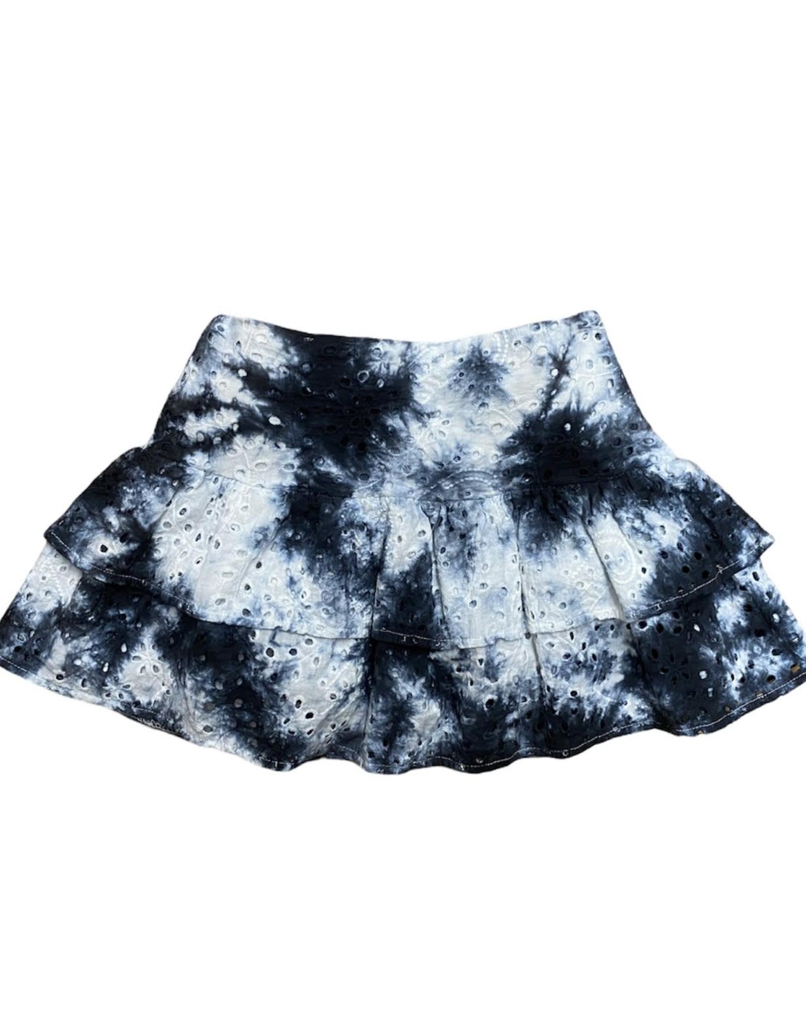KatieJnyc Lily Skirt B/W Tie Dye