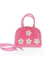 Doe a Dear Glitter Punch Floral Bowling Bag
