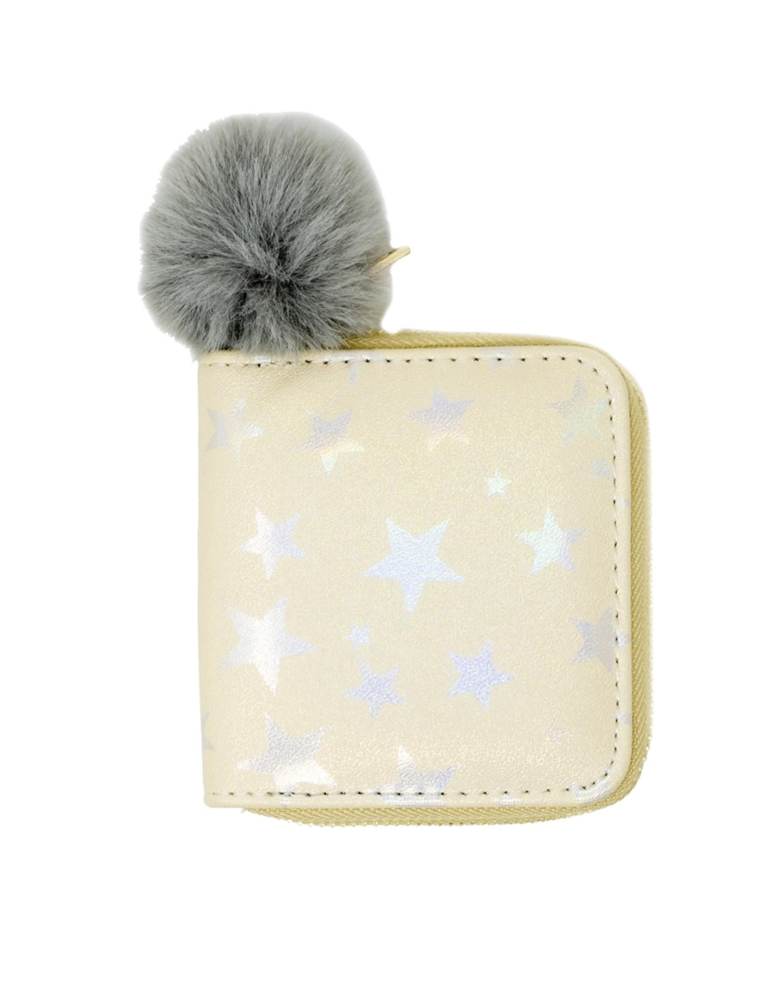 Tiny Treats & Zomi Gems Shiny Star Kids Wallet Gold