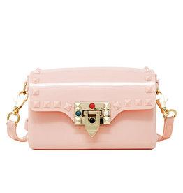 Tiny Treats & Zomi Gems Mini Jelly Stud Handbag Pink