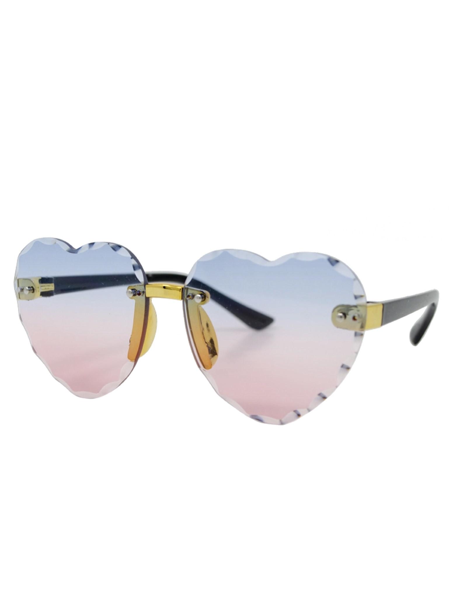Tiny Treats & Zomi Gems Frameless Heart Sunglasses