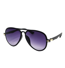 Tiny Treats & Zomi Gems Black Aviator Sunglasses