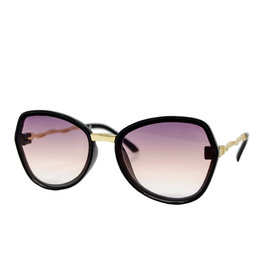 Tiny Treats & Zomi Gems Black Butterfly Sunset Sunglasses