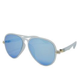 Tiny Treats & Zomi Gems Cool Blue Aviator Sunglasses