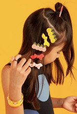 Lillies & Roses Multi Pineapple Pink Yellow Alligator Clips