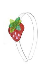 Lillies & Roses Strawberry Glitter Red Headband