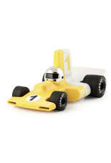 Playforever Velocita Yellow/Chrome Car