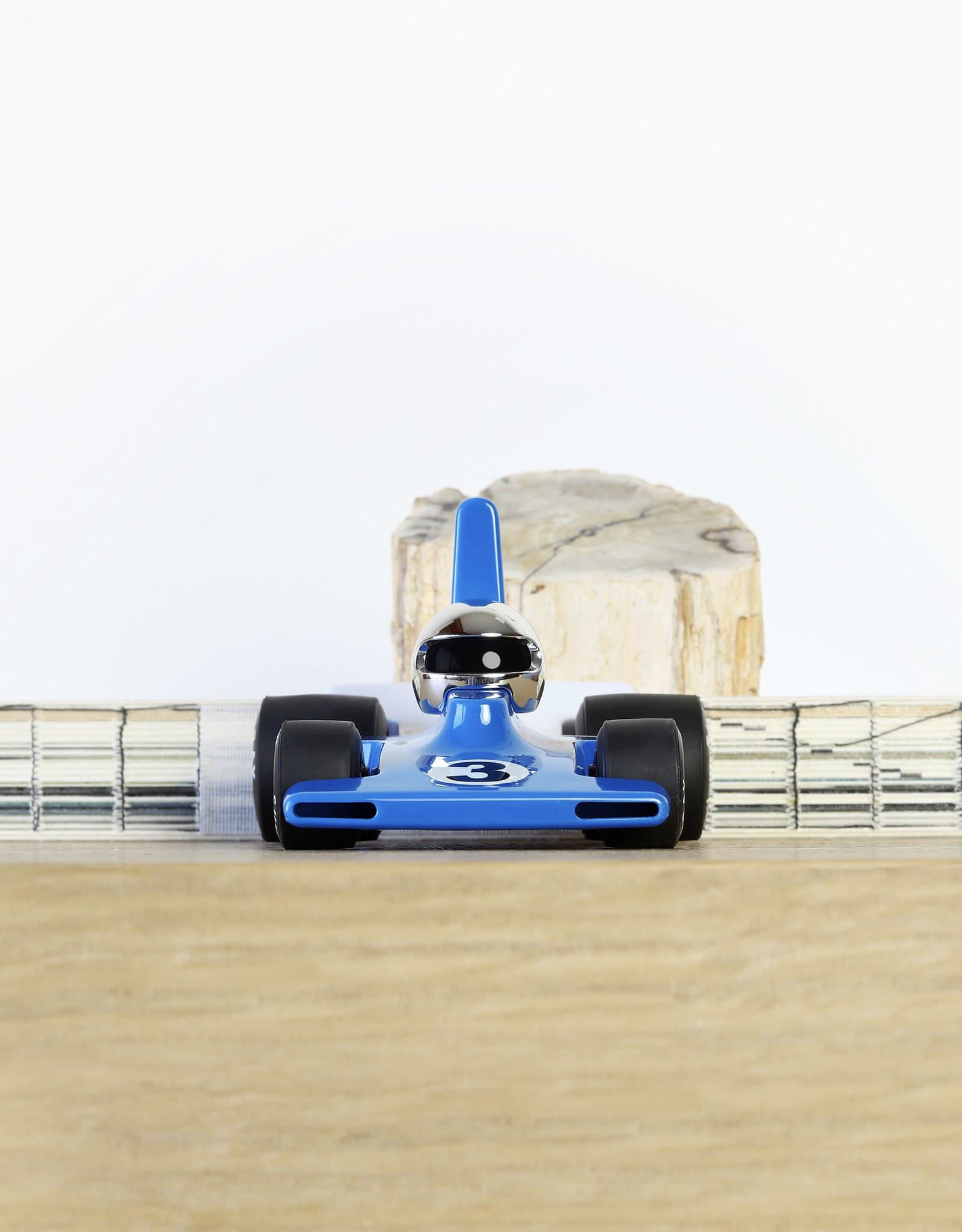 Playforever Velocita Blue/Chrome Car