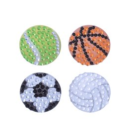 Sticker Beans Play Ball