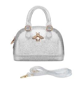 Doe a Dear Silver Jelly Bee Bowling Bag