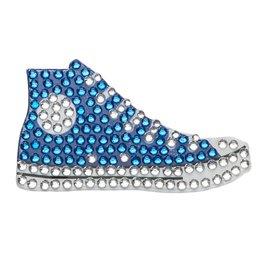 Sticker Beans Blue Sneaker