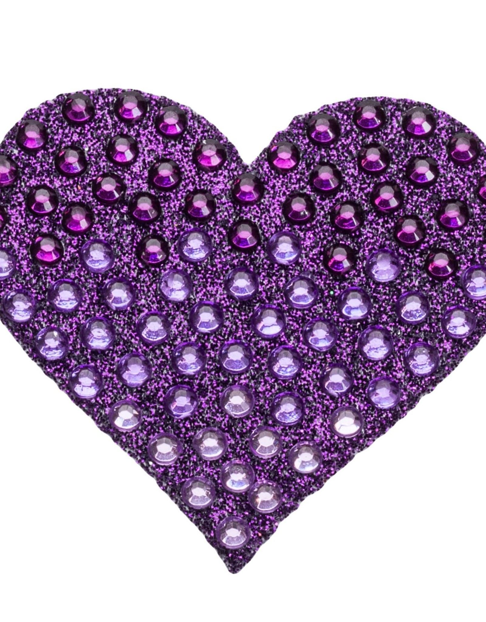 Sticker Beans Sticker Beans Purple Ombre Heart