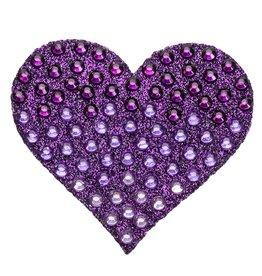 Sticker Beans Purple Ombre Heart