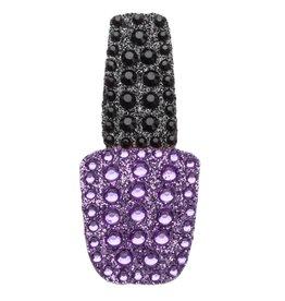 Sticker Beans Purple Nail Polish