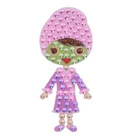 Sticker Beans Spa Girl