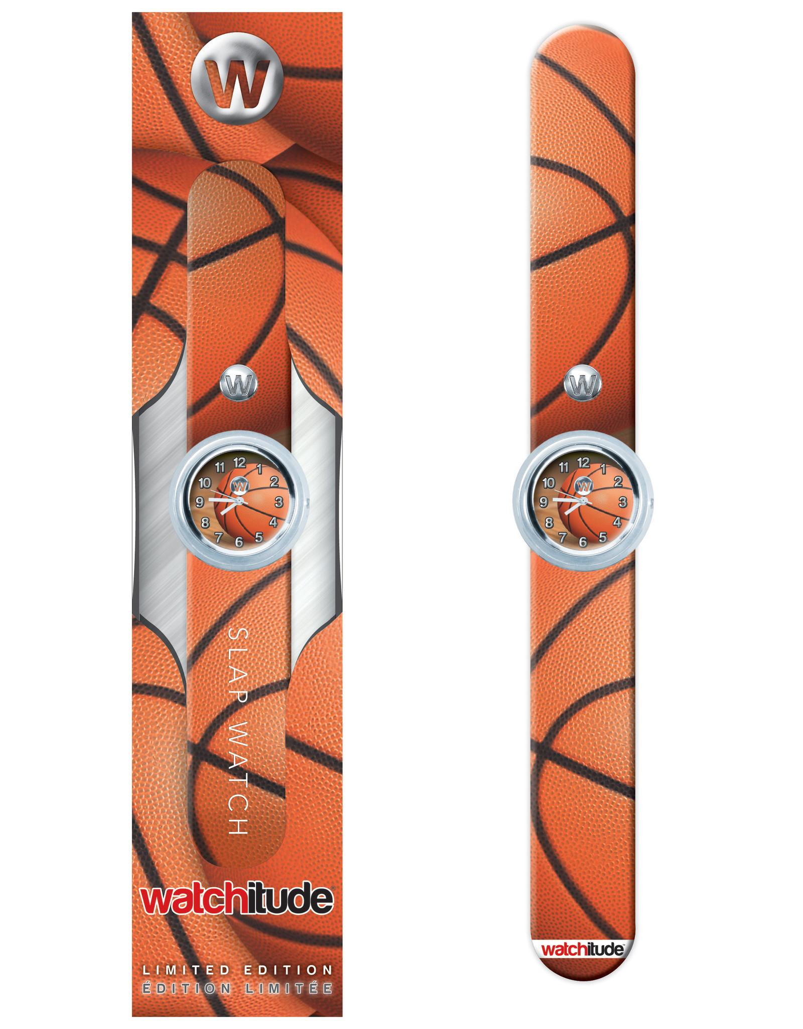 Watchitude Watchitude Slap Watch- Basketball