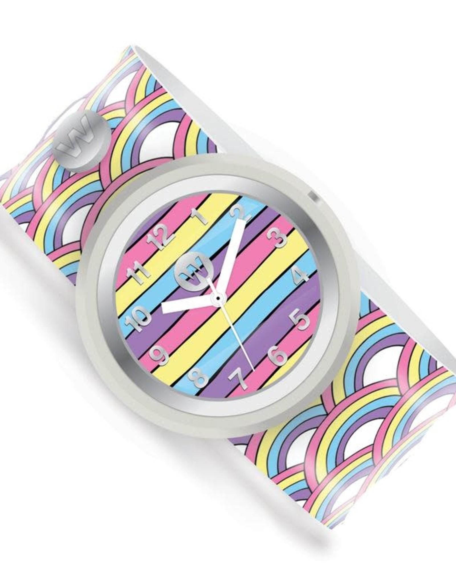 Watchitude Watchitude Slap Watch- Rainbow Playground