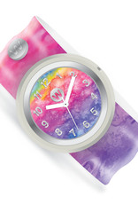Watchitude Watchitude Slap Watch- Rainbow Tie Dye
