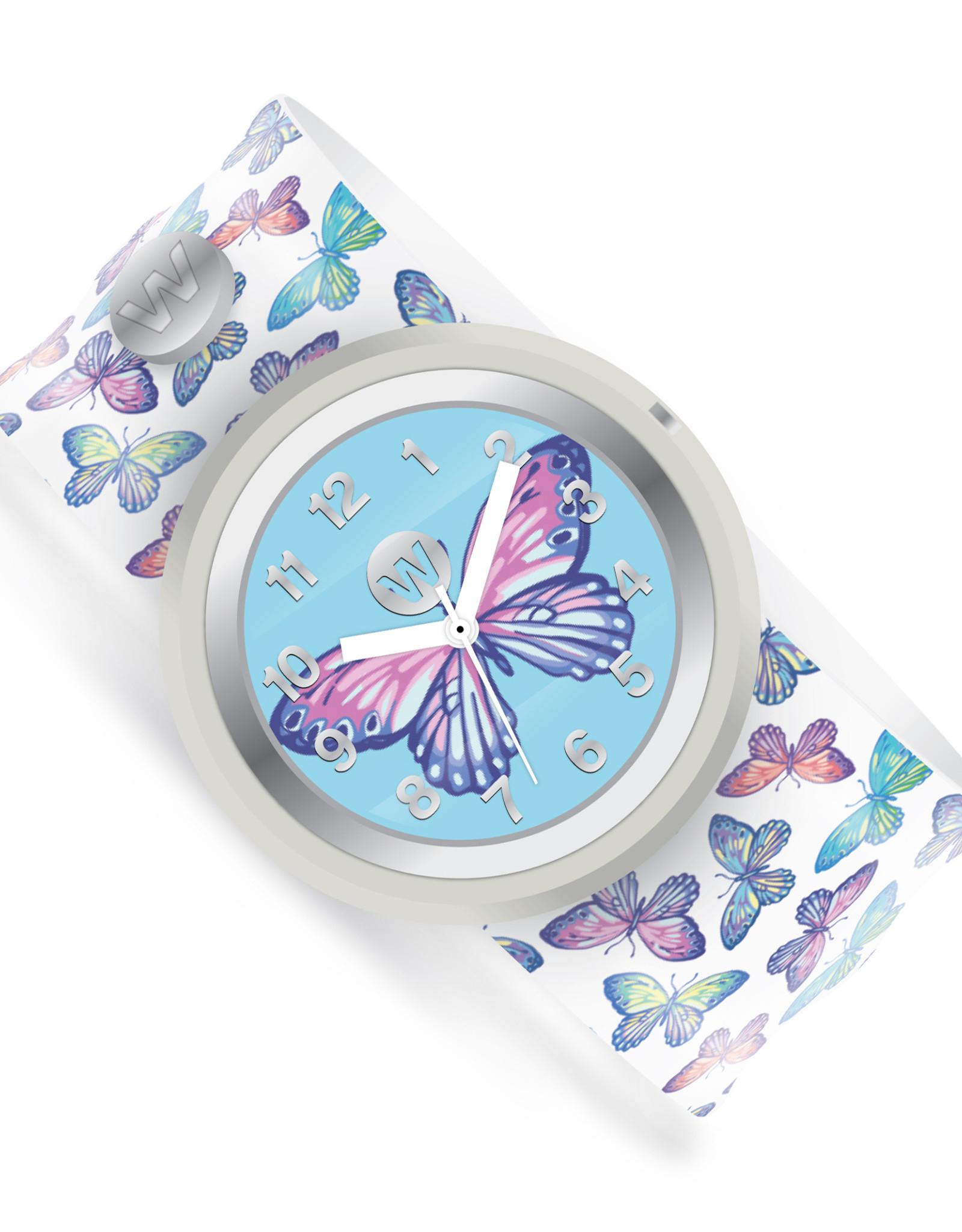 Watchitude Watchitude Slap Watch- Butterfly Bash