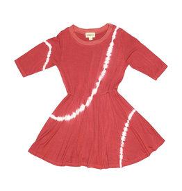 Fairwell Cranberry Tea Dress