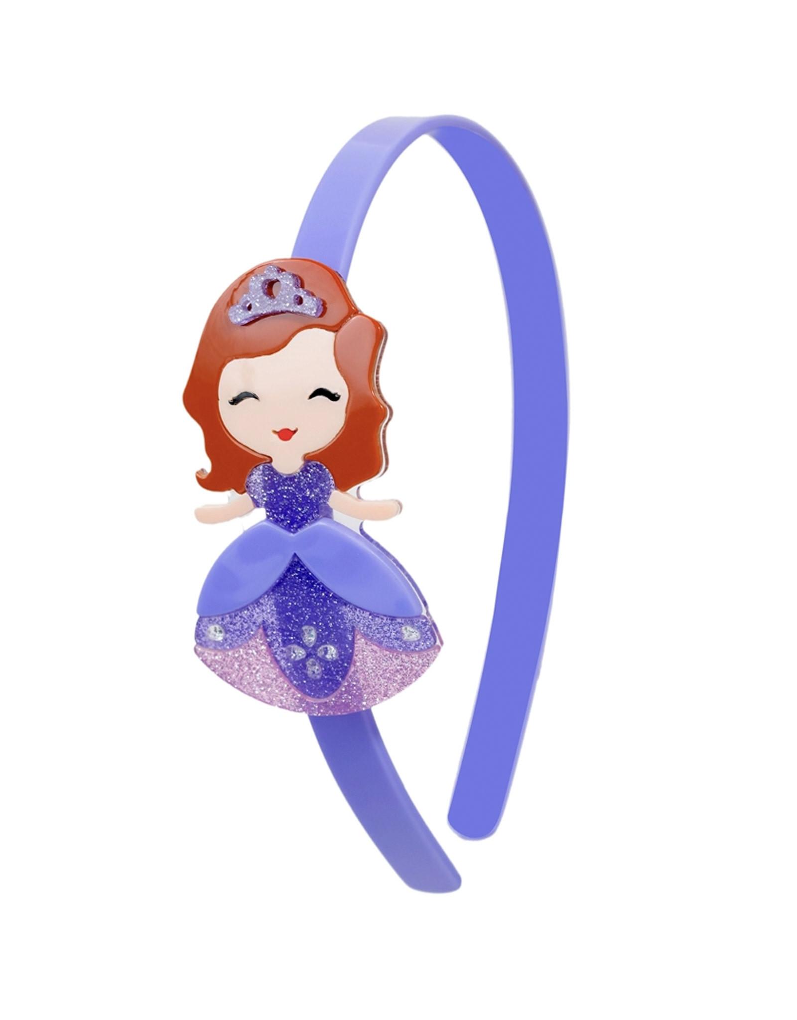 Lillies & Roses LR Headband Cute Doll Orchid Dress