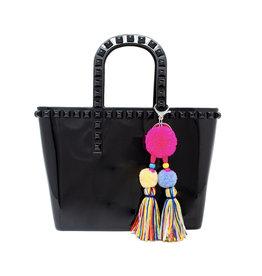 Tiny Treats & Zomi Gems Tiny Jelly Tote Bag Black