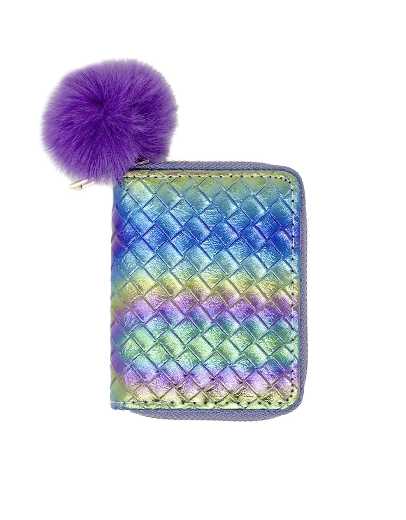 Tiny Treats & Zomi Gems Rainbow Mermaid Scale Wallet