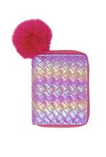 Tiny Treats & Zomi Gems Pink Mermaid Scale Wallet