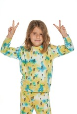 Chaser Brand Tie Dye Bolt Pullover
