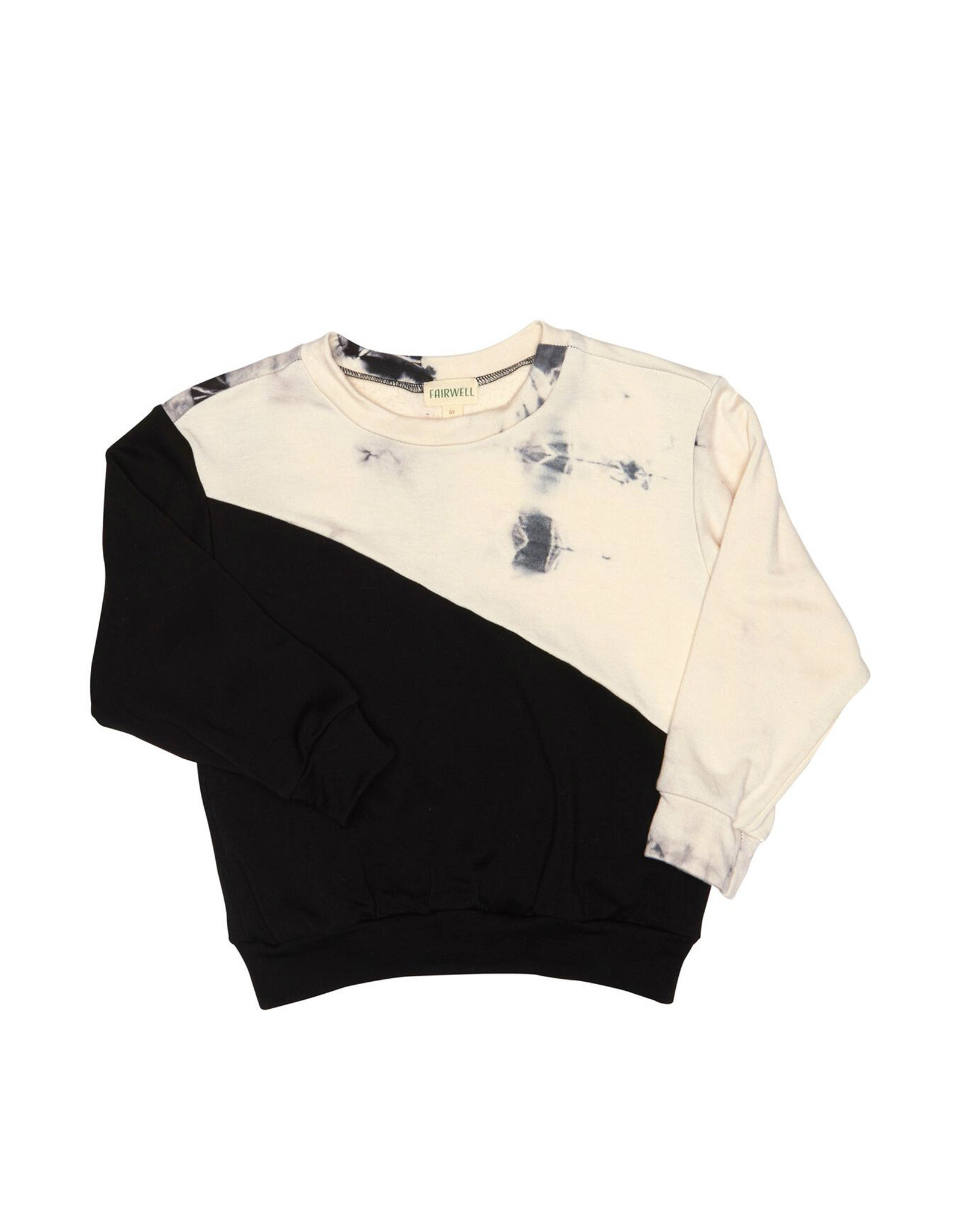 Fairwell Ecru & Black Block Pullover