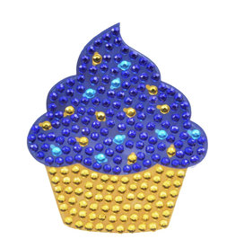 Sticker Beans Holiday Cupcake