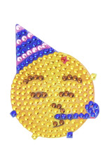 Sticker Beans Sticker Beans Party Face Emoji