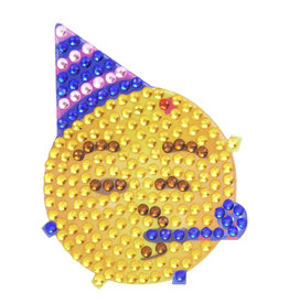 Sticker Beans Party Face Emoji