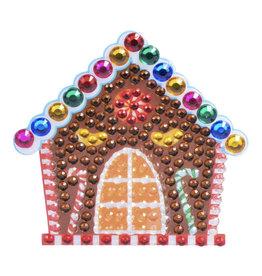 Sticker Beans Gingerbread House